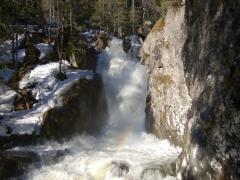 Жигаланские водопады. Хребет  Кваркуш
