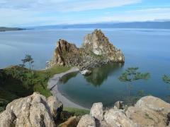 Лагерь на Ольхоне (Байкал)