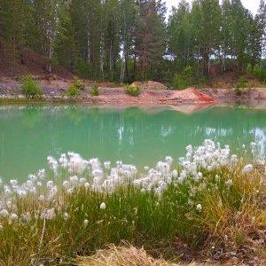 Водопад и семицветные озера