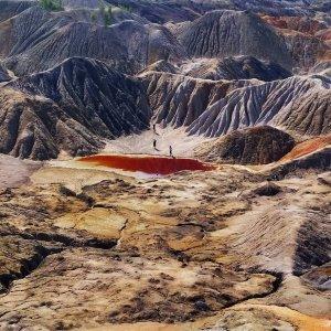 Уральский Марс и игра в бассейне