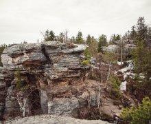 Усьвинские столбы, Каменный город, гора Колпаки