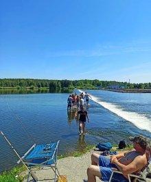 Лазурный берег Белоярского водохранилища