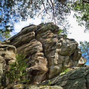 Кырманские скалы и Кобылья Голова