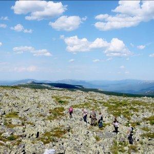 Июньский поход по Уральским горам