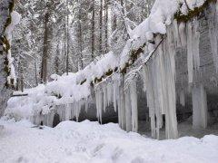 Ледопад ручья Мельничный