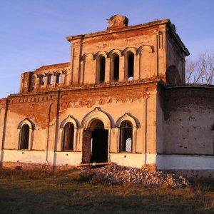 Заброшенный Симеоновский (Ново-Тихвинский) монастырь