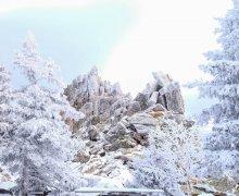 Гора Юрма - первый тысячник Южного Урала!