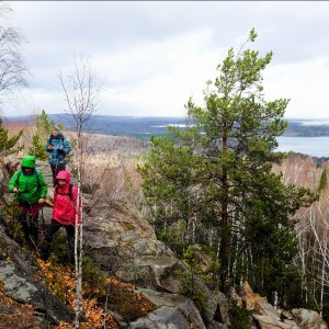 В минувшие выходные, 17 октября, прошёл поход на скалы Ел...