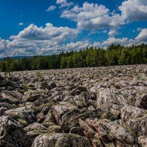 Таганай | Каменная река
