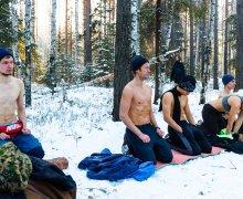 Туммо на Соколином камне - практика генерации внутреннего жара