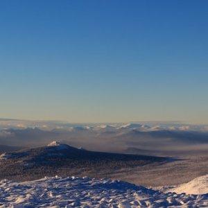 Хребет Зигальга - гора Поперечная