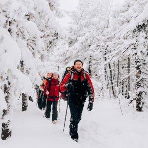 5-6 января прошёл огненный зимний поход на хребет Юрма. П...