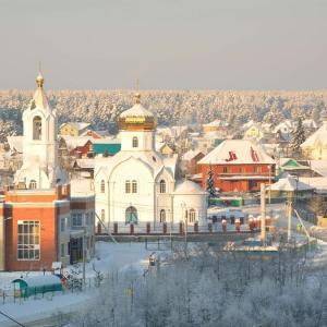 Беговой поход в окрестностях П. Старопышминск