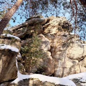 Скалы Кырман и Кобылья голова