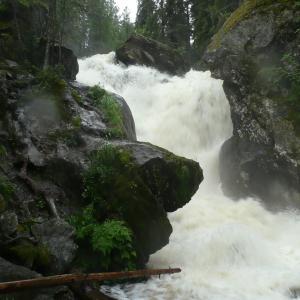Жигаланские водопады. Плато Кваркуш.