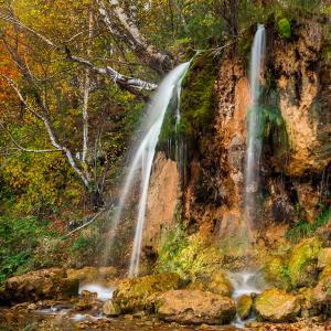 Водопад Плакун и Вакутин Камень
