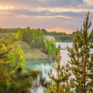 Голубые воды озера Межники