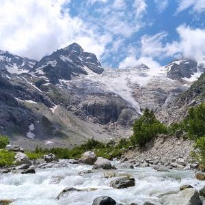 Горы и водопады Северной Осетии