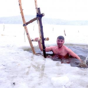 Походная баня, закаливание